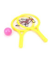 Baby Tennis Racket - Yellow