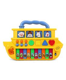 Ship Shaped Baby Musical Keyboard - Yellow