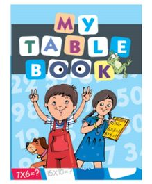 My Table Book - English