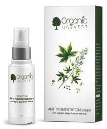 Organic Harvest Anti Pigmentation Cream With Organic Daisy Flowers Extracts - 30 grams