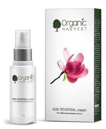 Organic Harvest Age Reversal Cream With Olive Tree Leaves Extract - 30 grams