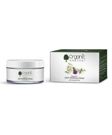 Organic Harvest Anti Wrinkle Mask With Essential Oil - 50 grams