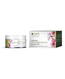 Organic Harvest Anti Pigmentation Massage Cream - 50 grams