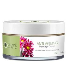 Organic Harvest Anti Ageing Massage Cream - 50 grams