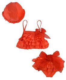 StyleMyKidz 2 Piece Swimwear - Red
