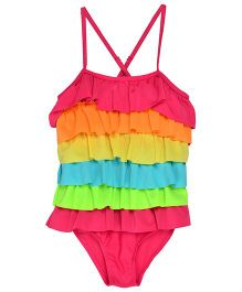StyleMyKidz Rainbow Swimsuit - Multicolor
