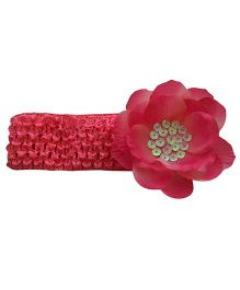 Tiny Closet Flower Headband  - Pink