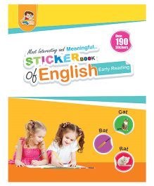Sticker Book of English Early Reading - English