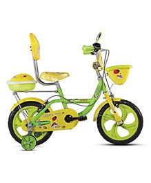 BSA Dew 12 Inches Bicycle - Yellow & Green