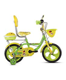 BSA Dew 14 Inches Bicycle - Yellow & Green
