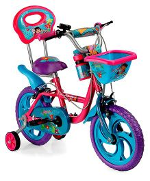 BSA Dora 14 Inches Bicycle - Pink & Blue