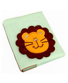 Little Pipal Lion Mini Photo Album - Green