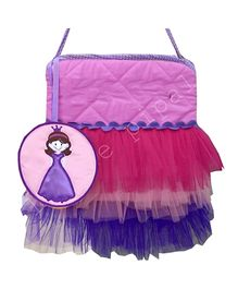 Little Pipal Doll Print Tutu Tote Bag - Multicolor