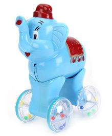 Kumar Toys Push And Go Elephant - Blue