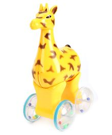 Kumar Toys Push And Go Dear - Yellow