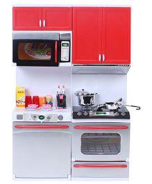 Kumar Toys Modern Kitchen Set - Red