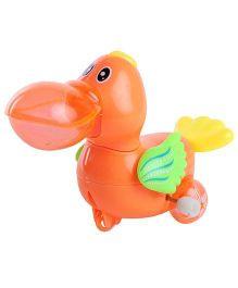 Kumar Toys Wind Up Duck - Orange