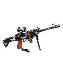 Kumar Toys Machine Gun Toy - Black