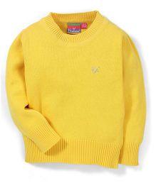 Vitamins Full Sleeves Sweater - Yellow