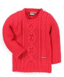 Vitamins Full Sleeves Sweater - Peach