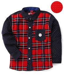 Noddy Original Clothing Check Shirt - Red