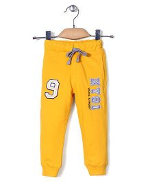 Noddy Original Clothing Track Pants With Drawstring - Yellow