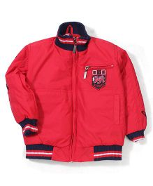 Noddy Original Clothing Quilted Full Sleeves Jacket - Red
