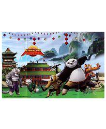 Kungfu Panda Paper Backdrop Poster - 1 Piece