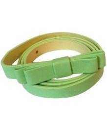 D'chica Sassy Bow Belt - Green