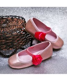 D'chica Shoes Sparkly Shoes - Pink