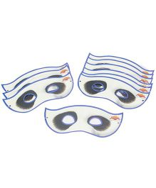 Kung Fu Panda Party Face Mask - Pack Of 5