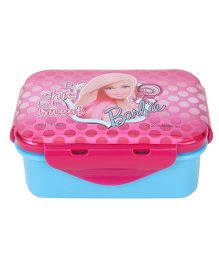 Barbie Small Lunch Box - Pink Blue