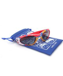 Doraemon Kids Sunglasses With Pouch - Red
