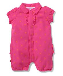Magnificent Baby Romper - Pink