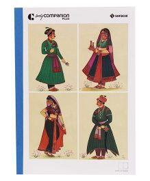 Shrachi Single Line Long Notebook - 172 Pages