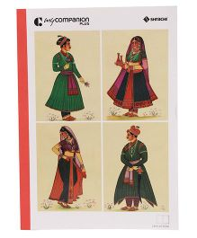 Shrachi Single Line Long Notebook - 316 Pages