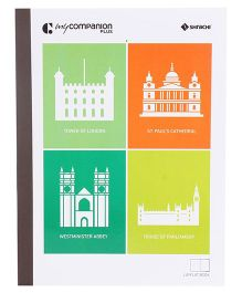 Shrachi Single Line Long Notebook - 164 Pages