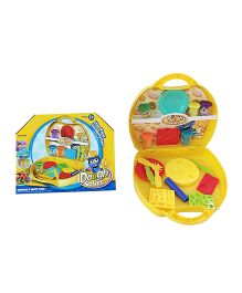 Happy Kids Colorful Play Dough Kit - Yellow