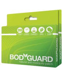Bodyguard Premium Natural Anti Mosquito Patches - 40 Patches in 2 Pack
