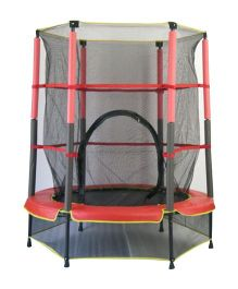 Playwell Trampoline with Enclosure 55@DQ@ - Red