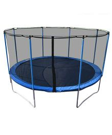 Playwell Trampoline with Enclosure 6 ft - Blue