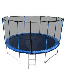 Playwell Trampoline with Enclosure 10 ft - Blue