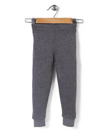 Babyhug Full Length Thermal Leggings - Grey