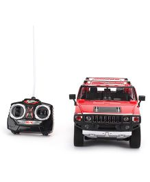 Mitashi Dash Hummer H 2 Remote Controlled Car - Red
