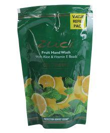 Zuci Cool Citrus Mint Hand Wash Refill Pack - 180 ml