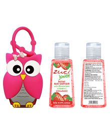 Zuci Junior Strawberry Sanitizer With Owl Bag Tag Box