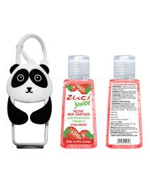 Zuci Junior Hand Sanitizer And Panda Bag Tag 30 ml (Flavors May Vary)