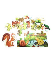 Creative Early Puzzles Step II Small Animals