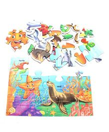 Creative Early Puzzles Step II - Sea Animals