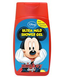 Mickey Mouse And Friends Ultra Mild Baby Shower Gel - 200 ml